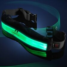 Auraglow Light Up High Visibility USB Rechargeable Running Cycling Safety Belt