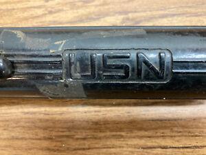 Vintage WW2 U.S. Navy Flashlight - Stewart R. Browne Mfg. - For Parts Or Repair