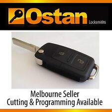 VW Volkswagen POLO 2002 - 2005 Fully Functional Remote Key Fob (Aftermarket)