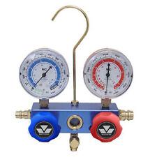 "Mastercool 85103 Aluminum Block Manifold Gauge Set w/2 1/2"" gauges"