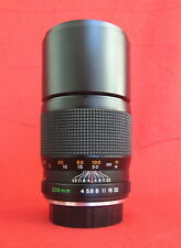 Vntg YASHICA ML 200mm f/4 C Telephoto Lens C/Y Contax Yashica Mount MINTY!!