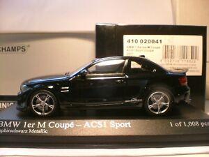MEGA RARE MINICHAMPS 1/43 2011 BMW 1 SERIES M ACS1 SPORTS COUPE OUTSTANDING NLA