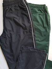 Lands End 2 Mens Size L 36-38 Piped Mesh Lined Athletic Pants Wind Water Resist