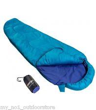 Vango 100% Cotton Sleeping Bag Liner Mummy - Blue (Sleeping Bag NOT Included)