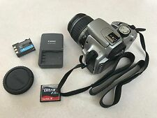 Working Canon Rebel XT Digital EOS Camera Bundle WITH LENS EFS 18-55mm