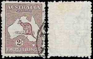 Australia, 1924, ROO, 2s, SG74, DIE II, Wmk 6 - USED: