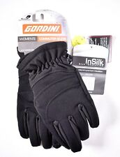 GORDINI Women's Commuter Gloves (Sz S/Small) Black 3G4073 Touch Screen Capable