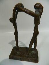 Bronzefigur Skulptur Figurengruppe N005
