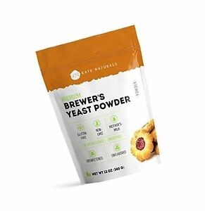 Brewer's Yeast Powder - Kate Naturals. Perfect for Lactation Cookies, Breastf...