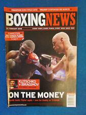 Boxing News Magazine - 22/2/08 - Kelly Pavlik & Jermain Taylor Cover