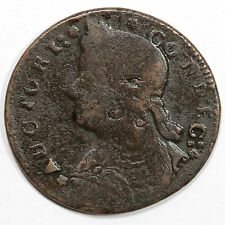 1787 M 33.34-Z.3 R-5+ Connecticut Colonial Copper Coin Ex; Eliasberg/Krause