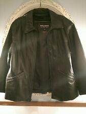 Ladies Wilson Thinsulate Leather Coat XL