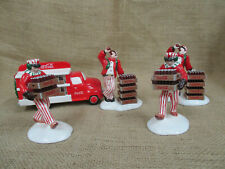 Dept. 56 - 1964 Coca Cola Village Accessories