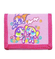 Warner Bros Power Puff Girls Supa Dupa PinkTrifold Wallet/Card Holder for Kids