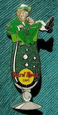 BELFAST IRELAND HURRICANE GLASS SERIES IRISH LEPRCHAUN Hard Rock Cafe PIN LE
