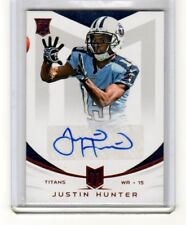 JUSTIN HUNTER 2013 Momentum ROOKIE SIGNATURES #148 Tennessee PITTSBURGH