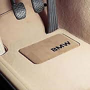 BMW GENUINE 5 SERIES Carpeted Floor Mats - CREME BEIGE  82-11-0-036-133