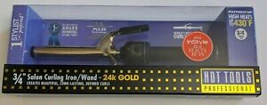 """Hot Tools Professional 1101 Curling Iron with Multi-Heat Control, Regular 3/4"""""""