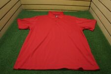 New Page & Tuttle Golf Cool Swing Polo Mens Size Large Red  Clothing