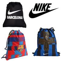 Nike Gym Sacks - Barcelona FC, Inter Milan, Black Barcelona City Series