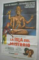 Filmplakat,Plakat,LA ISLA DEL MISTERIO, GUY MADISON,PETER VAN EYCK#133