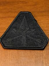 PDW Black Phalanx Patch Prometheus Design Werx BRAND NEW! FREE SHIPPING