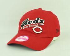 MLB Cincinnati Reds Era 9forty Sun Buckle Red Women Adjustable Hat Cap