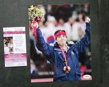 Apolo Ohno Hot! signed autographed US Olympic 8x10 photo JSA coa cert PROOF!!