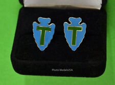 "36th Infantry Division- ""Arrowhead"" Texas Army National Guard Cuff Links Div ANG"
