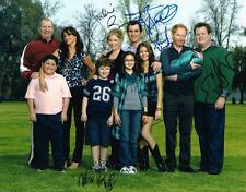 Modern Family Cast SIGNED11x14 Photo Ty Eric Jesse Noah Ariel Julie COA