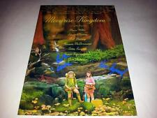 "MOONRISE KINGDOM CAST X3 PP SIGNED 12""X8"" POSTER WES ANDERSON"