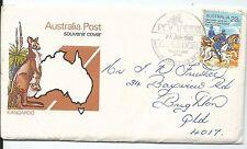 1980 Pompeii Exhibition Melbourne Special Postmark Pictor Marks Pm 696 (2)