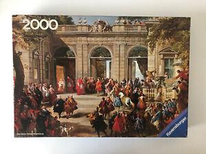2000 Pieces Jigsaw Puzzle Ravensburger Pannini Large Reception Very Rare Vintage