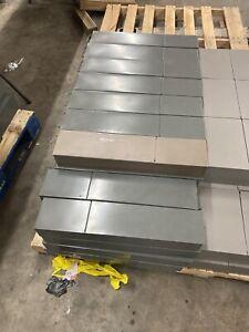 SAFE DEPOSIT BOX METAL DRAWER! SAFETY BANK TRAY CASE VINTAGE 3x5x21.5  grey