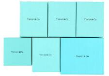 Tiffany & Co. Empty Box Gift Storage Box 6p Set Small Green -62