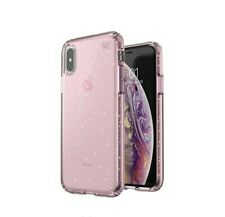 Speck - Presidio Clear + Glitter Case for iPhone XS Max - Pink