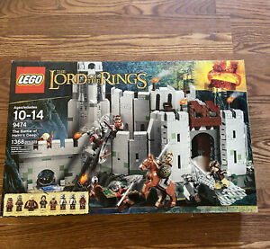 Lego The Lord of the Rings The Battle of Helm's Deep 9474 New in Box Sealed