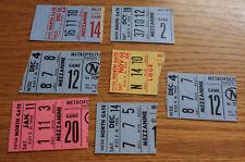 Lot of 7 Minnesota North Stars Ticket Stub - All 1960s