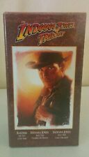 The Indiana Jones Trilogy Collectors Edition 1989 3-Movie Set in VHS /New Sealed