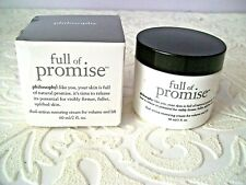 Philosophy Full of Promise Dual-Action Restoring Cream 2 Oz. New / Sealed in Box