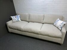 Vienna 3 Seater Large Sofa, W224 x D85 x H 84cm, Natural