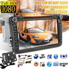 "8"" DVD Autoradio GPS Navigation Stéréo pour VW Golf 5 6 Passat CC B6 B7 Polo"