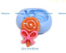 Moule Silicone Mini sucette 2,2cm - fimo, résine, plâtre, porcelaine froide