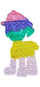Paw Dog Push it Bubble Pop Patrol Fidget Sensory Toy ADHD Stress Reliever Toys