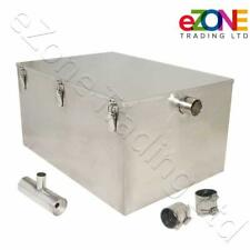 More details for commercial grease trap 156 litre catering waste fat oil filter stainless steel