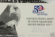 United States Mint, Silver Proof State Quarters. 2006 S