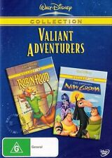 ROBIN HOOD / THE EMPEROR'S NEW GROOVE : NEW DVD