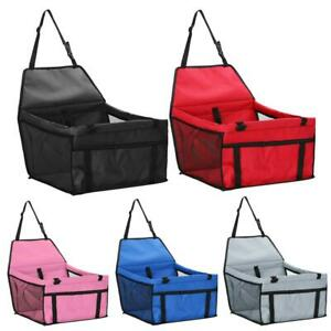 Pet Car Safety Seat Breathable Waterproof Cat Dog Travel Carrier Bag Basket