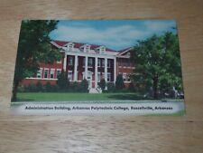 Administration Building Arkansas Polytechnic College Russellville AR - Postcard