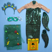 American Girl 1998 Sparkling Mermaid Outfit Pleasant Co Retired Pristine RARE